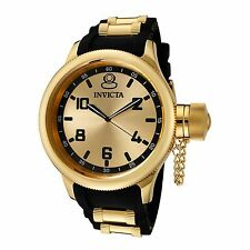 Invicta 1438 Men's Russian Diver Gold-Tone Quartz Watch
