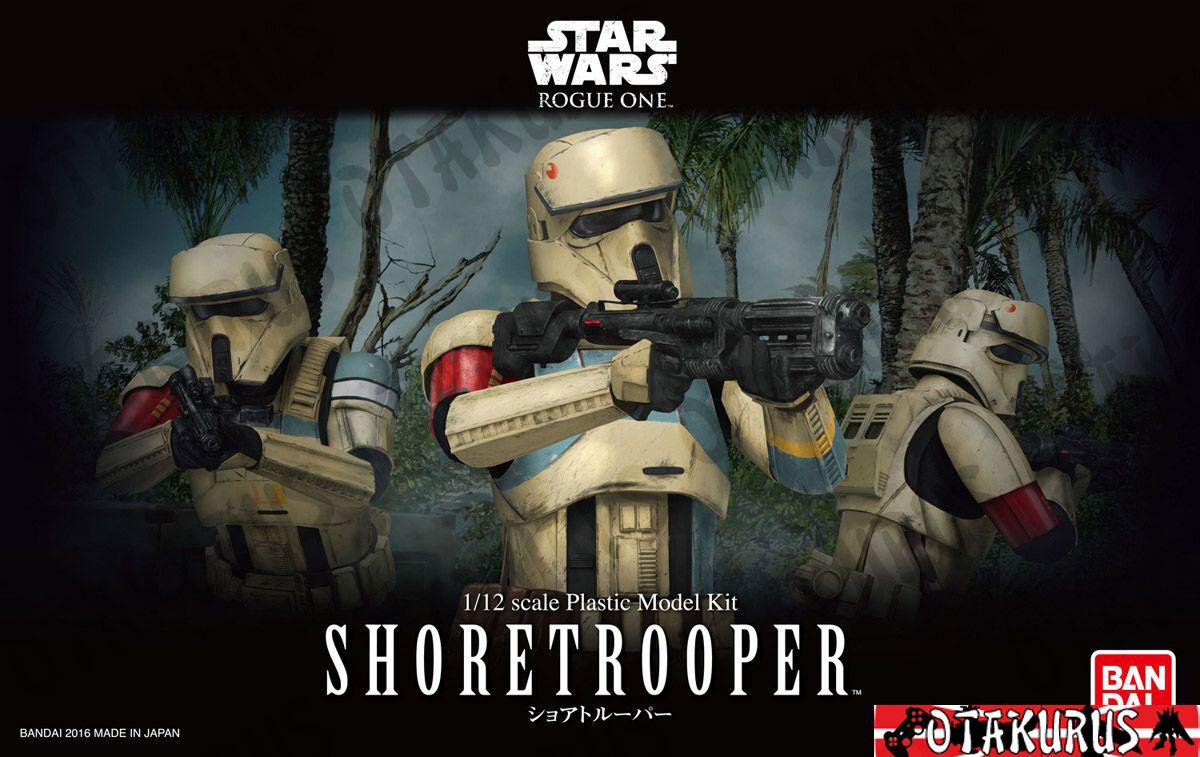 Shoretrooper Star Wars Rogue One Scale 1 12 Plastic Model Figure Bandai Japan