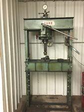 Dake Corporation 907002 Hydraulic Press 50 Ton Manual Pump