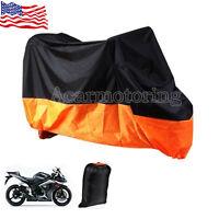 Motorcycle Storage Cover For Kawasaki Vn Nomad Voyager Vaquero 1700