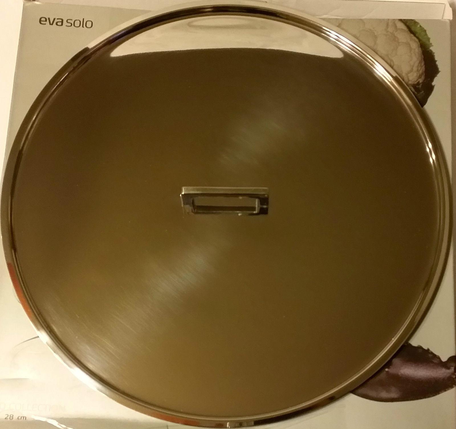 Nouveau Eva Solo XO Pot en acier inoxydable Pan Couvercle 28 cm-livraison gratuite