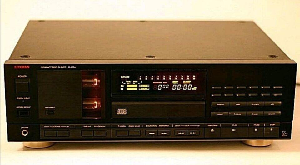 CD afspiller, Luxman, D-107u