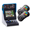 NEOGEO-Mini-Multi-Player-Bundle-Console-with-40-games-2-x-Black-Controllers thumbnail 1
