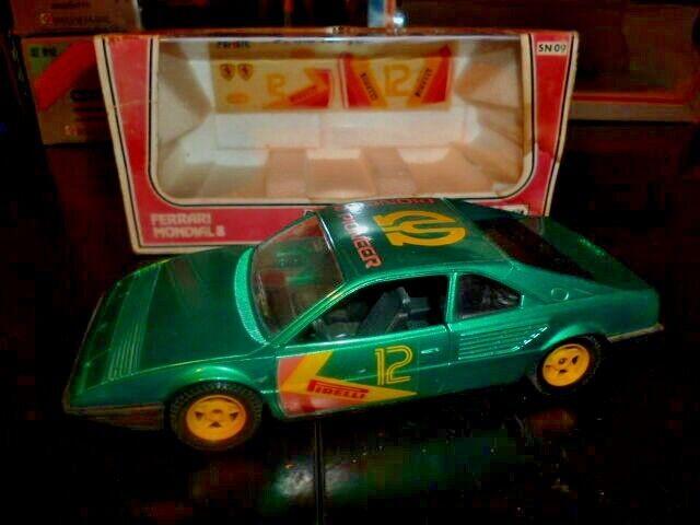 marca de lujo Vintage Raro Polistil Diecast Ferrari Mondial 8 Pioneer Pioneer Pioneer 1 25 MIB de Italia  respuestas rápidas