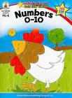 Numbers 0-10 Grades PK-K by Carson Dellosa Publishing Company (Paperback / softback, 2010)