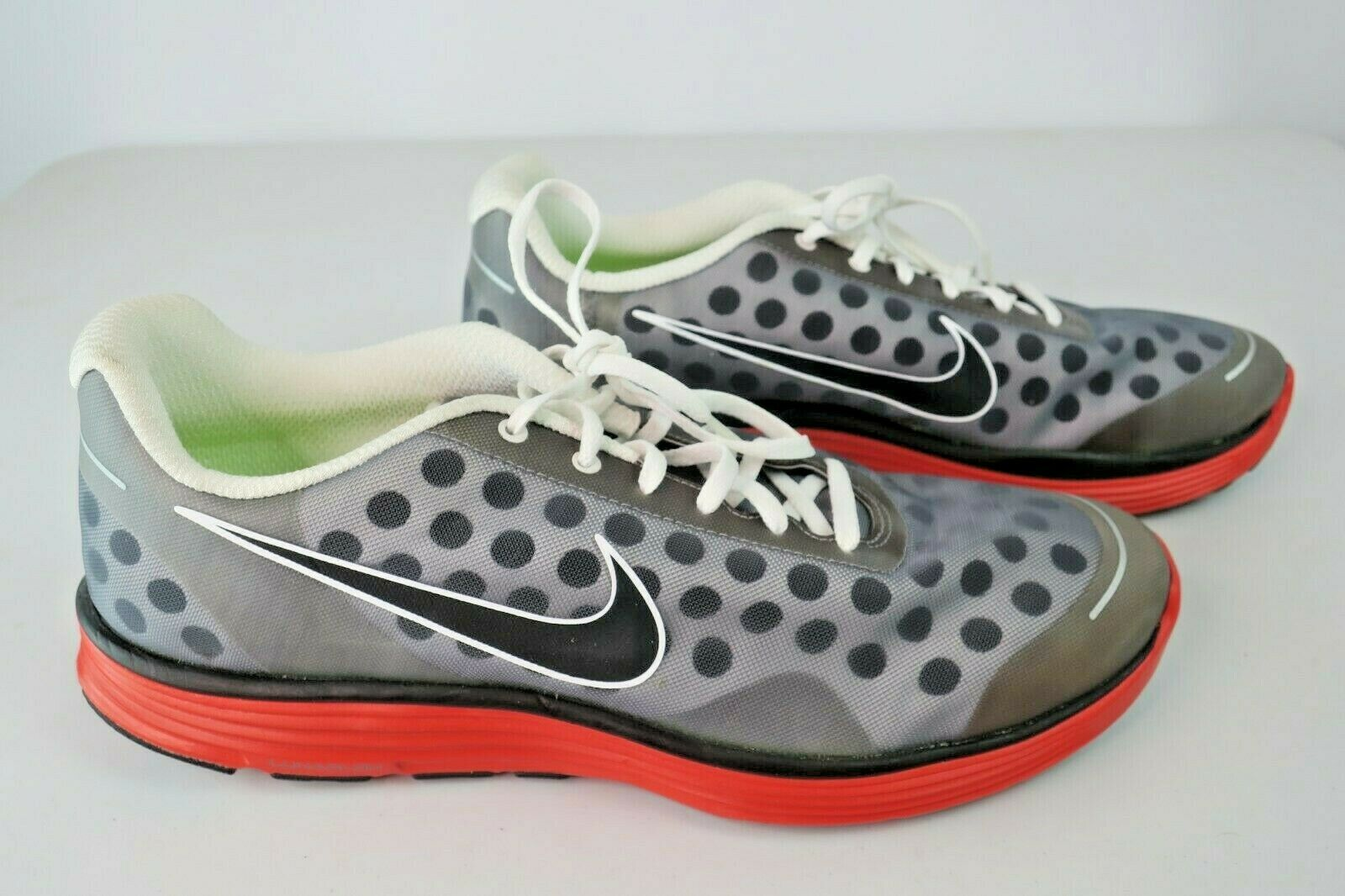 Nike Lunarswift+ 2 Men's Sneakers in Grey Red (443840-006) 13 M US MEN 2011 NWOB