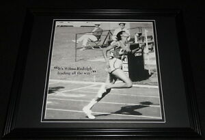 Wilma-Rudolph-Olympics-Framed-11x14-Photo-Display