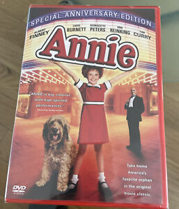 Annie (DVD, Special Anniversary Edition)...BRAND NEW...FREE SHIPPING