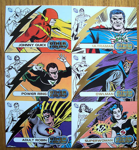 Justice League America JLA Other Earths Chase Set