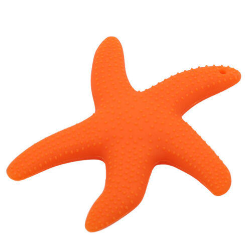 Baby Starfish Teether Toy Baby Molar Teething Silicone Sensory Teeth L