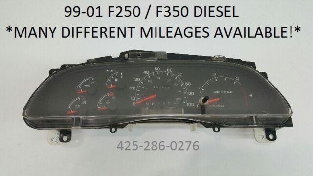 1999 ford f250 powerstroke mpg