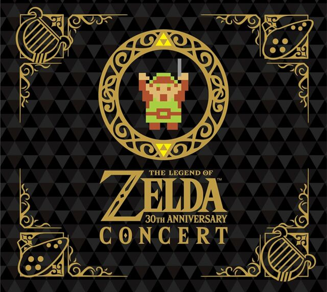 30 TH Anniversary Edition CONCERT Legend of Zelda  CD JAPAN JAPANESE NINTENDO