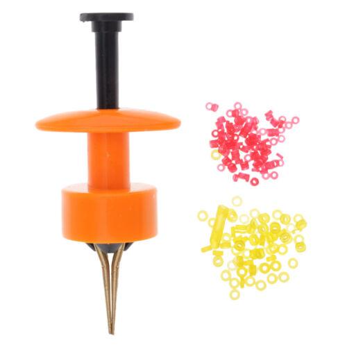 Nouvel outil d/'agression d/'agrafe de ver de terre de leurre d/'agrafe de vers
