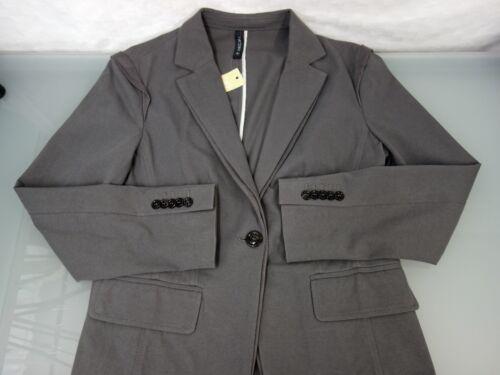 Gr Jacke Neu Grau Cain Jacket Marc Marccain Designer Blazer 42 Baumwolle N5 8HHBqXSaW