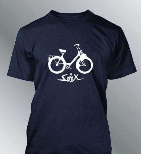 T-Shirt Customised Bike Solex Man Youngtimer Vintage Velosolex Cyclo