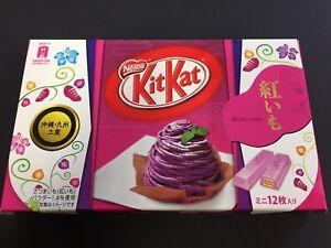 Details About Limited Japanese Kit Kat Okinawa Beniimo Sweet Purple Potato Chocolate Kitkat