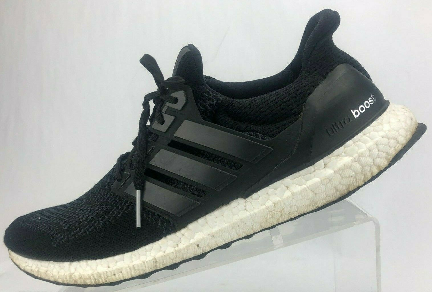 Adidas Ultra Boost Running shoes Black Training Athletic Sneakers Womens US 12.5