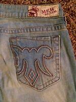 Mek By Rock Revival aldan Women's Boot Cut Jeans Size: 29x34, $98
