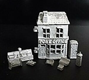 1-12-Scale-Dolls-House-Post-Office-toy-dollshouse-HS43U-Pewter