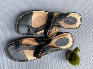 Born Sandals Brown  Size 11 Toe Strap