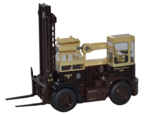 Oxford 76SDF001 00 Gabelstapler Shelvoke /& Drewry British Rail