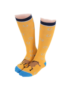 Bay Horse Toes Shires Everyday Socks