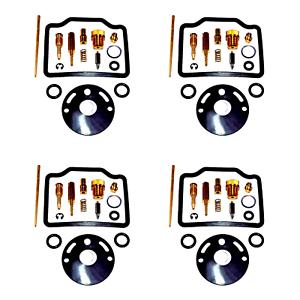 4x-Vergaser-Reparatursatz-fuer-HONDA-CB750-Four-K1-K2-K3-K4-K5-BJ-71-75-CB-750