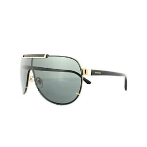 6deead0f0d6 Image is loading Versace-Sunglasses-2140-100287-Gold-Grey
