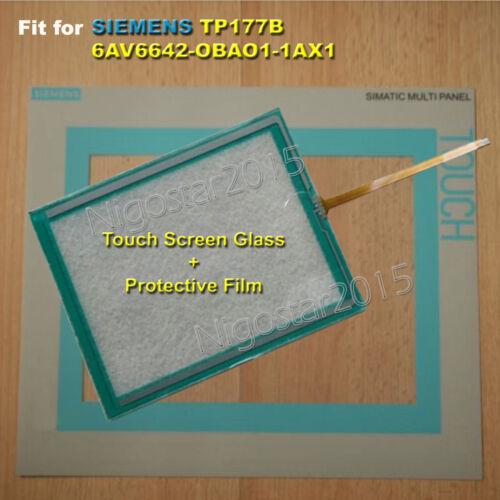 Para Siemens TP177B 6AV6 642-0BA01-1AX1 Pantalla Táctil Vidrio Con Película Protectora