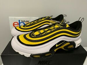 Details about Nike Air Max Plus 97 TN Frequency Pack Yellow White Black AV7936 100 Men's 8 13