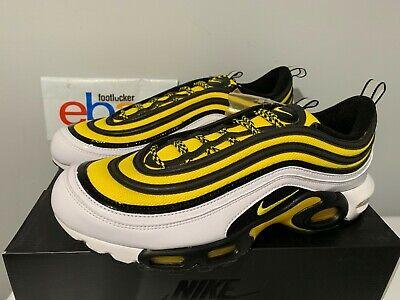 nike air max plus 97 yellow and black