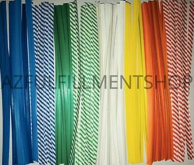 """10,000 Twist Ties 11/"""" Length Plastic Coated No Rip Paper Ties Cello General Use"""