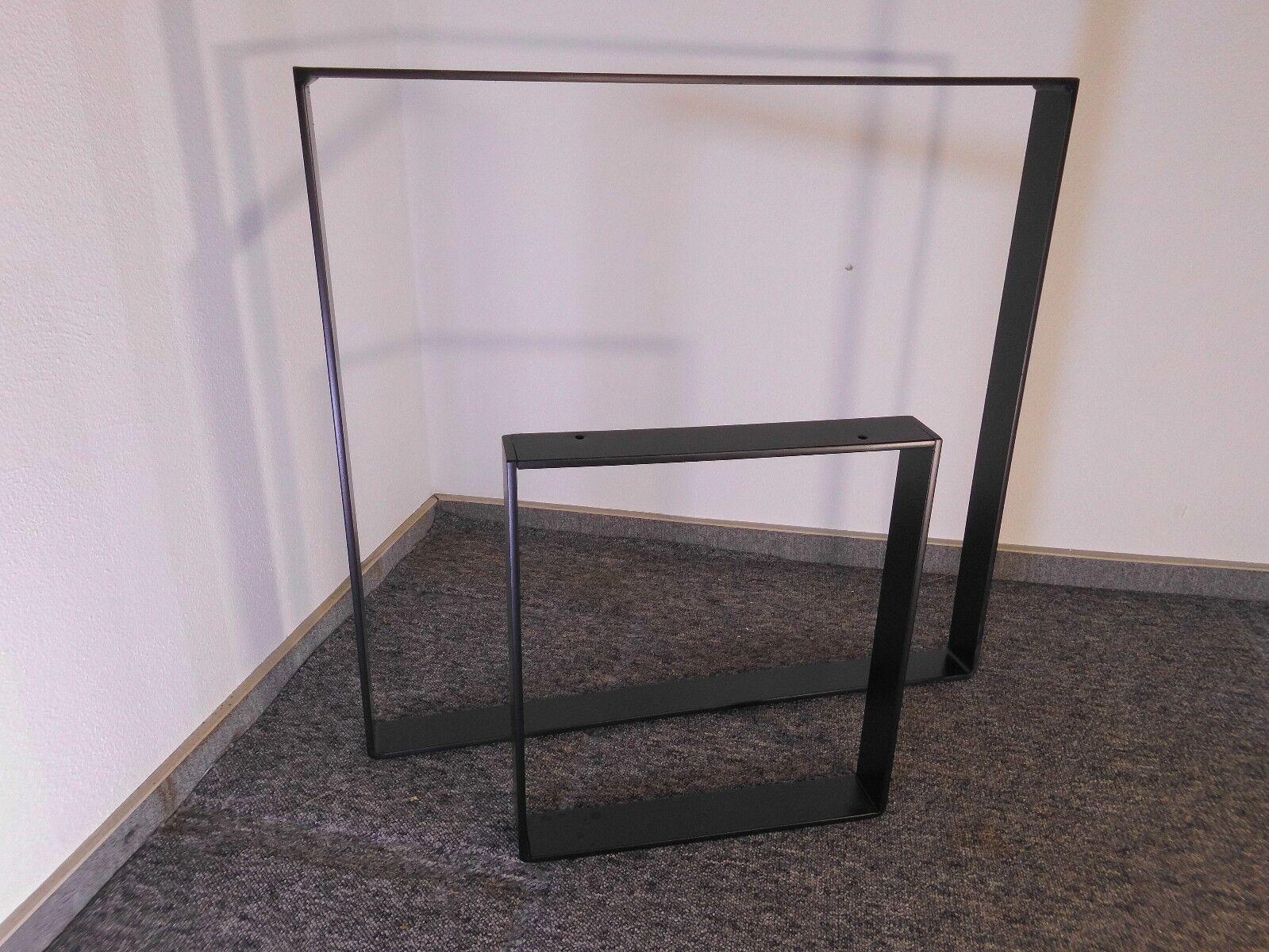 Tischkufen Tischgestell Tischfuß  Kufengestell schwarz Tischkufen Tischbeine