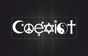 sticker-aufkleber-auto-motorrad-weiss-Friedenszeichen-religios-symbole-coexist