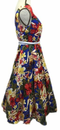 Laundry Bag Women/'s Audrey Hepburn 1950/'s Rockabilly Dress