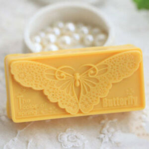 BUTTERFLY SILICONE MOLD SOAP MOULD BAR