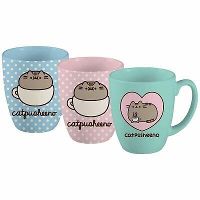 Heart Catpusheeno Cup Pusheen Cat 18 oz Mug Mint
