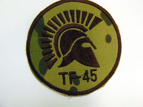 Patch Elmo Spartano TF-45 Forze Speciali in Afghanistan multicam