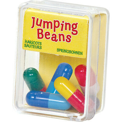 Box Of  5 Crazy Magic Jumping Beans Party Loot Bag Stocking Filler Toys 03366