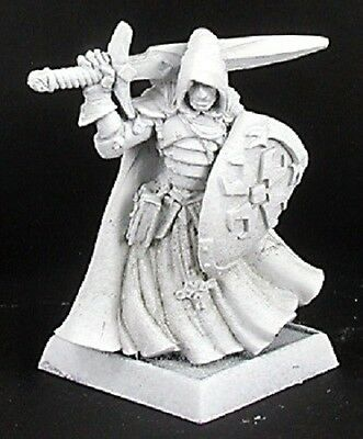 Sir Brannor Crusaders Cpt Reaper Miniatures Warlord Paladin Fighter Melee RPG