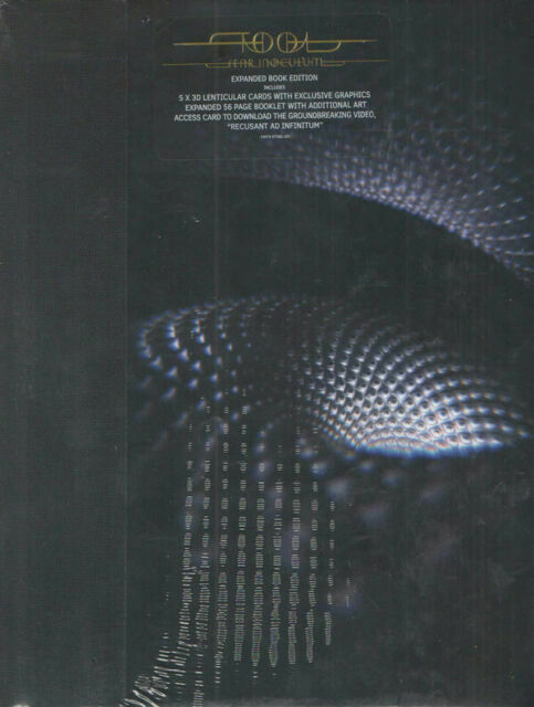 Tool Fear Inoculum Expanded Book Edition - CD, 2019 - Free Shipping