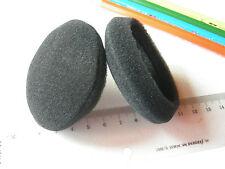 2 SPUGNA  Protezioni CUFFIE 70 mm  ricambio p.e per SONY DR-BT101