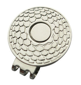 Magnetic-Hat-Clip-for-Golf-Ball-Marker-Suits-Golf-Cap-or-Visor-Brand-New