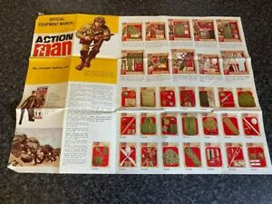 VINTAGE PALITOY ACTION MAN OFFICIAL EQUIPMENT MANUAL VGC FOR AGE