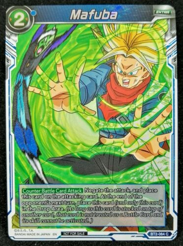 Dragon Ball Super 1x MAFUBA BT2-064 C Alt Art Foil NEW