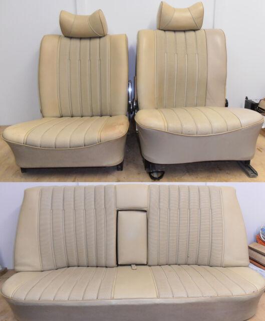 Mercedes Benz W115 Original Car Seats Full Seat Set