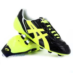 scarpe da calcio asics tigreor gialle