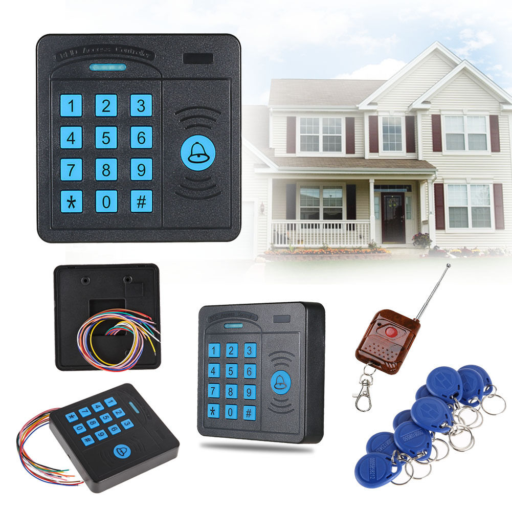 Security RFID Proximity Entry Door Lock Access Control System Device MacNWUS