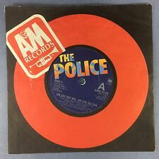 The Police - De Do Do Do De Da Da Da - A&M Records AMS-7578 Ex Condition