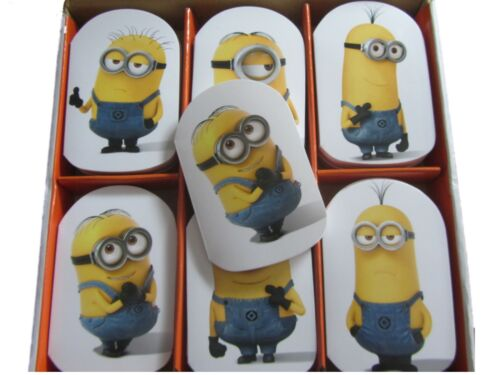 Official Licensed Despicable Me Minions 6 Notepads Girls Boys Party Bag Fillers